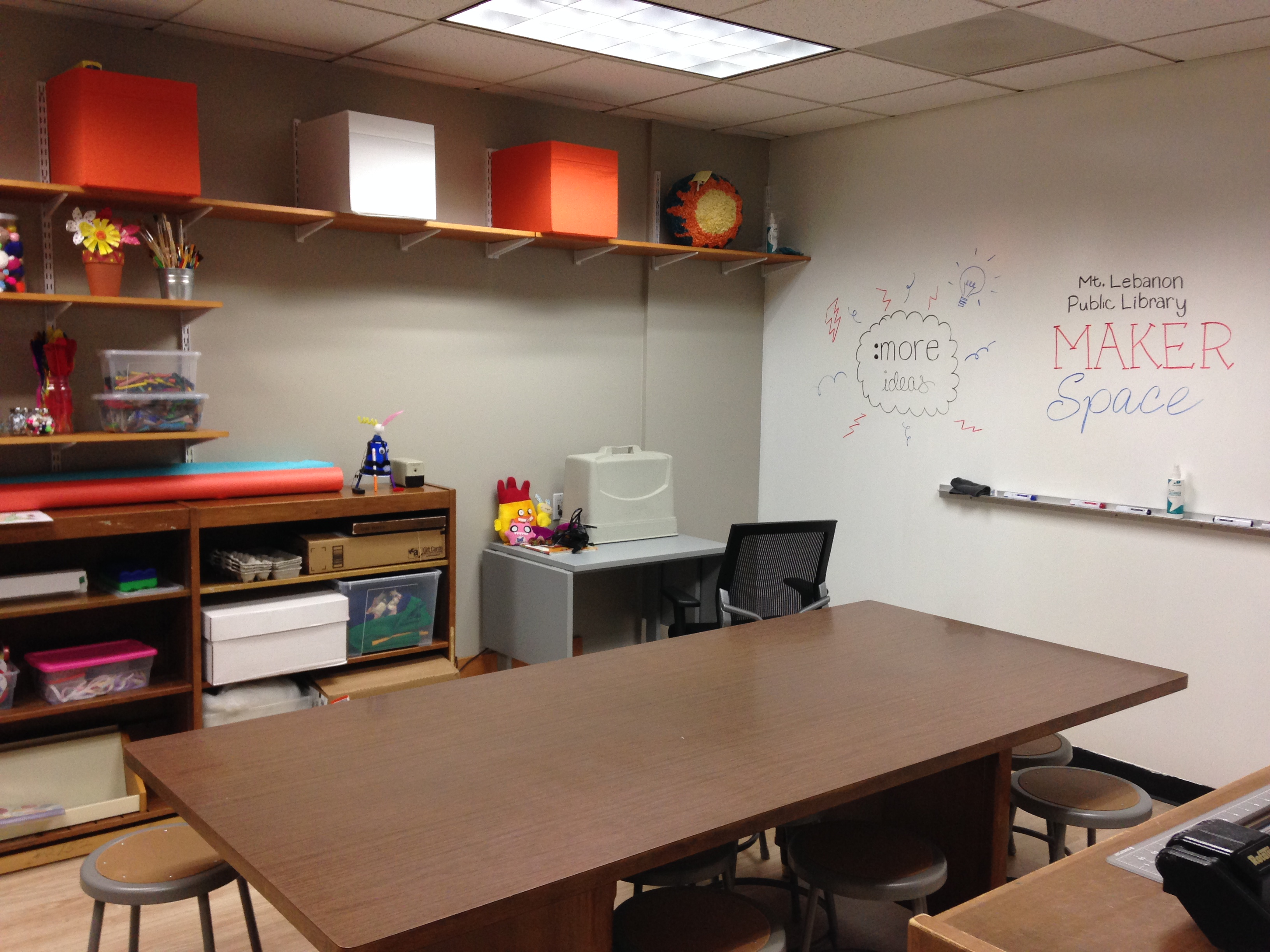 Maker Space Project Area