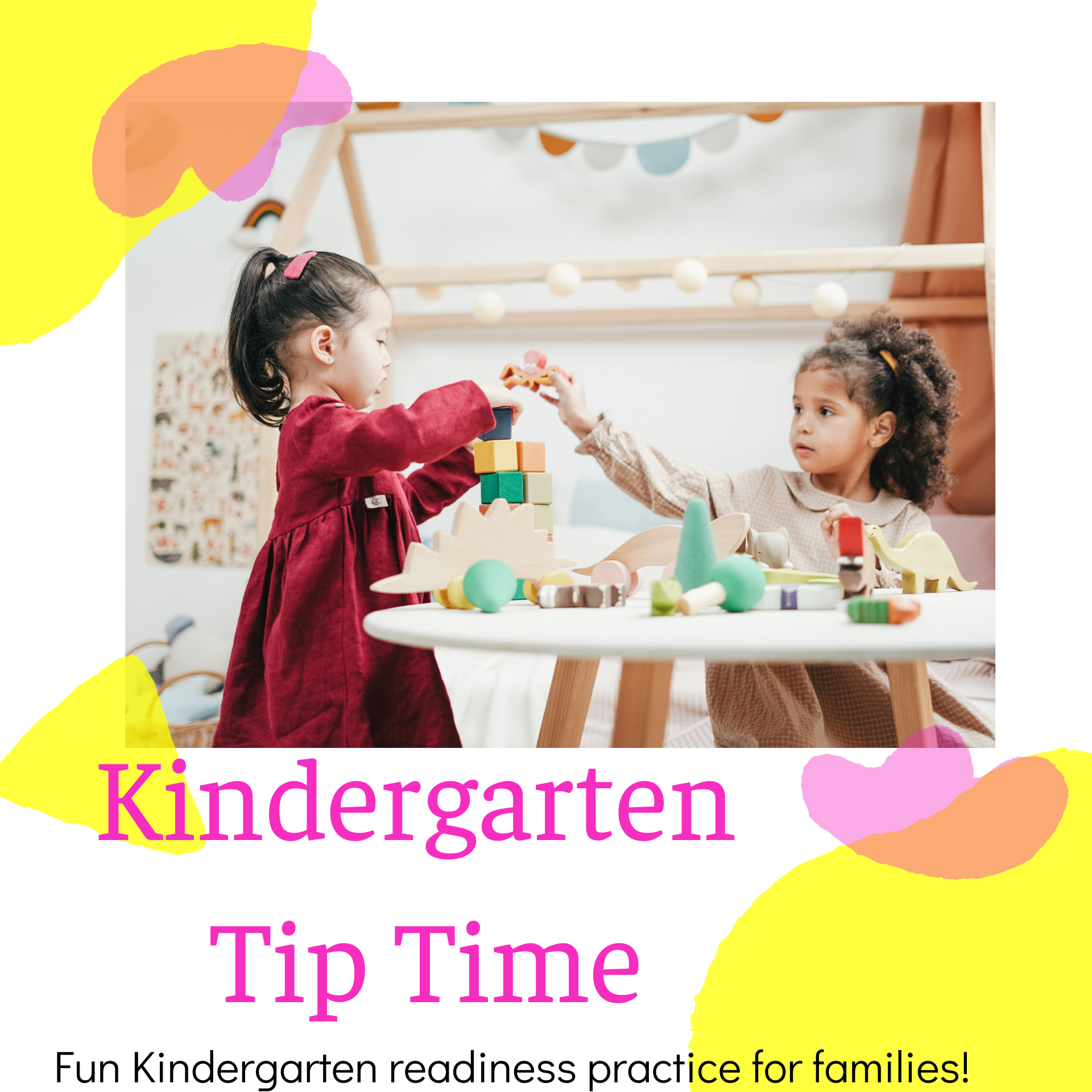 Ready-For-Kindergarten Tip Time Opens in new window